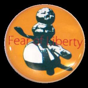 缶バッジ - 自由の恐怖